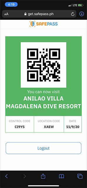 マグダレナに来ても良いっていうけど、このQRコード、どこで使うの?謎。